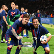 Lionel Messi and Xavi Hernandez Photos - 1 of 135