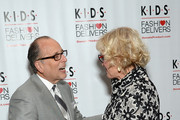 Allan Ellinger and Christine Ebersole attend the K.I.D.S. Fashion Delivers Women in Industry luncheon at 583 Park Avenue on June 3, 2015 in New York City.