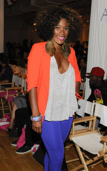 K Foxx Pictures Front Row Front Row Spring 2013