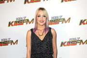 Musician Jessie Malakouti of Jesse and the Boy Toys arrives at the KIIS FM's Jingle Ball 2011 at Nokia Theatre L.A. Live wearing Babakul on December 3, 2011 in Los Angeles, California.