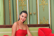 Mandy Capristo poses during the 'KISS Photo Call With Mandy Capristo' at Bayerischer Hof on June 27, 2018 in Munich, Germany.
