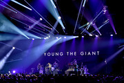 Young the Giant performs on stage during  KROQ Absolut Almost Acoustic Christmas at The Forum on December 9, 2018 in Inglewood, California.
