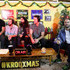 (L-R) Sameer Gadhia, Jacob Tilley, Payam Doostzadeh, Francois Comtois and Eric Cannata of Young the Giant speak during an interview at KROQ Absolut Almost Acoustic Christmas at The Forum on December 9, 2018 in Inglewood, California.