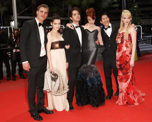 Gregg Araki (L-R) Actor Chris Zylka, French actress Roxane Mesquida,