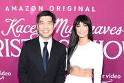 """Chief Operating Officer of Amazon Studios Albert Cheng and Kacey Musgraves attend the screening of the """"The Kacey Musgraves Christmas Show"""" at Metrograph on November 19, 2019 in New York City."""
