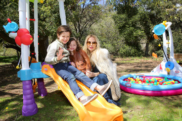 Kaius Berman Rachel Zoe Celebrates Son Skyler's Birthday With Little Tikes