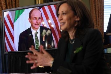 Kamala Harris European Best Pictures Of The Day - March 18