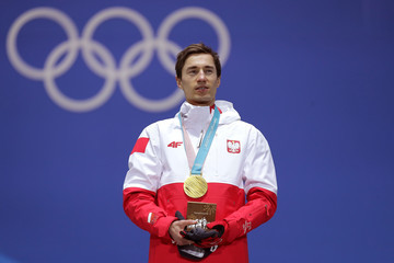 Kamil Stoch Medal Ceremony - Winter Olympics Day 9