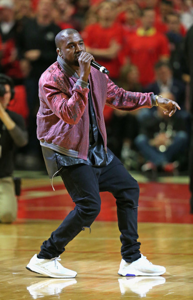 82f84275b4c Kanye West Photos Photos - Cleveland Cavaliers v Chicago Bulls ...