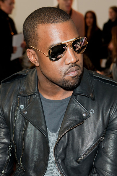 Kanye West Kanye West attends the Rodarte Fall 2011 fashion show during Mercedes-Benz Fashion Week at a Private Studio on February 15, 2011 in New York City.