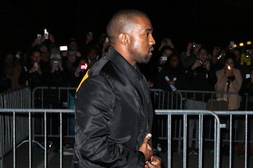 Kanye West Arrivals at the Givenchy Show