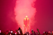 Kanye West Performs in Brisbane