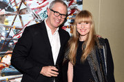 Donald Robertson (L) and Amy Astley attend Kara Ross x Donald Drawbertson Collaboration VIP Dinner at a private residence on November 24, 2014 in New York City.