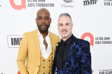 Karamo Brown 28th Annual Elton John AIDS Foundation Academy Awards Viewing Party Sponsored By IMDb, Neuro Drinks And Walmart - Red Carpet