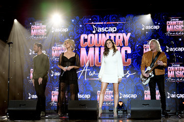 Karen Fairchild Phillip Sweet 57th Annual ASCAP Country Music Awards - Inside