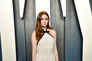 Karen Gillan 2020 Vanity Fair Oscar Party - Look Book
