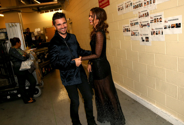 Backstage at the Latin Grammy Awards []