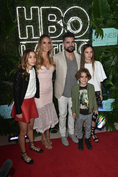 'The Juanes Effect' Premiere [red carpet,carpet,event,fashion,premiere,flooring,style,karen martinez,juanes,children,the juanes effect,miami beach,florida,faena forum,premiere]