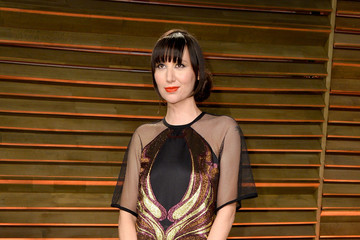 Karen O Stars at the Vanity Fair Oscar Party