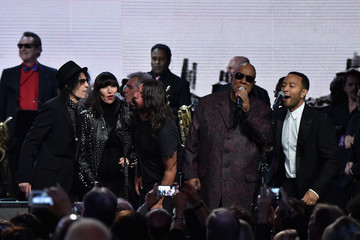 Karen O 30th Annual Rock And Roll Hall Of Fame Induction Ceremony - Show