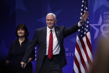Karen Pence Leading Conservatives Gather For Annual CPAC Event In National Harbor, Maryland