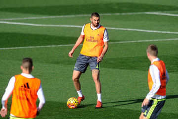 Karim Benzema Real Madrid Training and Press Conference