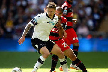 Karl Henry Derby County v Queens Park Rangers - Sky Bet Championship  Playoff Final