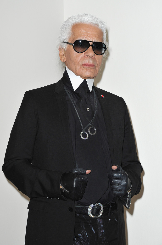 Karl lagerfeld exhibition launch at maison europeenne de la photographie zi - Maison karl lagerfeld ...