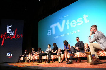 """Karla Souza Jack Falahee SCAD Presents aTVfest - Awards Presentation & ABC's """"How To Get Away With Murder"""""""