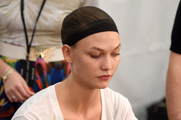 Karlie Kloss Marc Jacobs - Backstage - Mercedes-Benz Fashion Week Spring 2015
