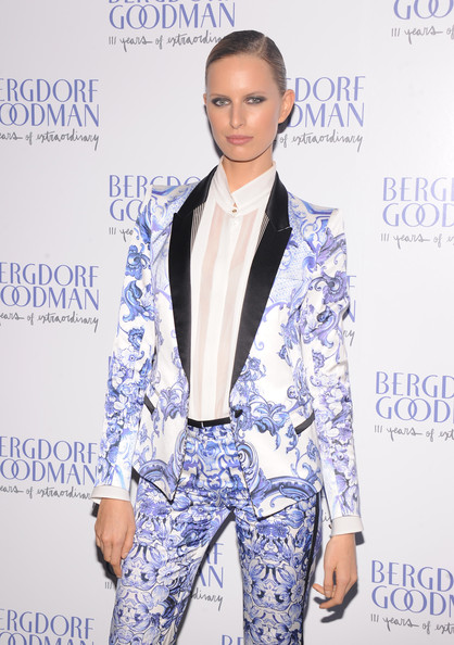 Karolina Kurkova - Bergdorf Goodman Celebrates It's 111th Anniversary At The Plaza In New York City - Arrivals
