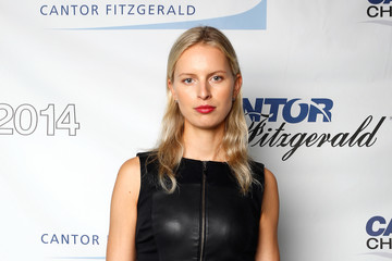 Karolina Kurkova Annual Charity Day Hosted By Cantor Fitzgerald And BGC - Cantor Fitzgerald Office - Arrivals