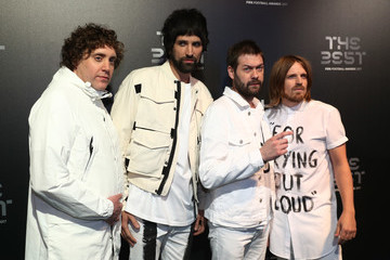 Kasabian The Best FIFA Football Awards - Green Carpet Arrivals