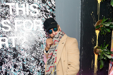 Kasseem Dean Saks Fifth Avenue and Good Luck Dry Cleaners Launch Underground Art-Themed Speakeasy, GLD@Saks