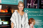 """Actress Elaine Hendrix attends """"Kat Kramer's Films That Changed the World"""" Presents 9th Installment at the James Bridges Theater, UCLA on June 3, 2017 in Los Angeles, California."""