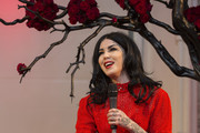 Kat Von D Celebrates a Makeup Range Launch in Ireland