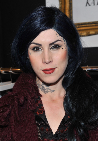Kat Von D TV Personality Kat Von D attends the ENK Fashion Coterie Fall 2011 at Pier 94 and Javits Center on February 20, 2011 in New York City.