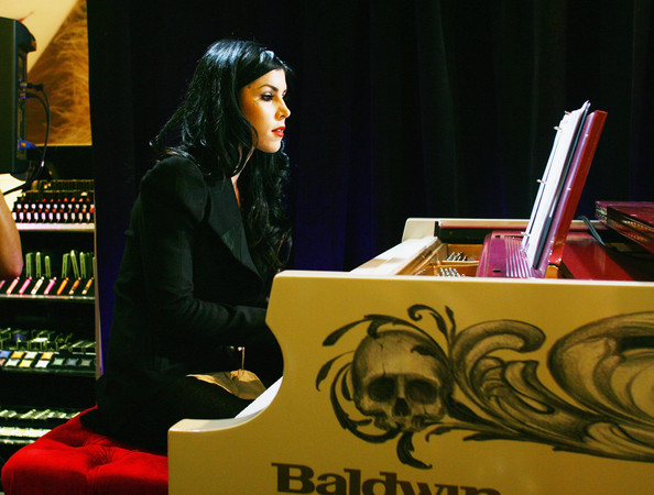 Kat Von D Tattoo artist and TV star Kat Von D entertains the guests by playing the piano during Sephora Times Square & Sephora 5 Times Square Fashion's Night Out at Sephora Times Square on September 8, 2011 in New York City.