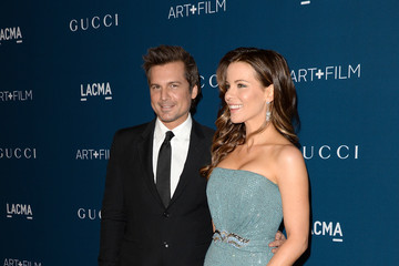 Kate Beckinsale Len Wiseman LACMA 2013 Art + Film Gala Honoring Martin Scorsese And David Hockney Presented By Gucci - Red Carpet