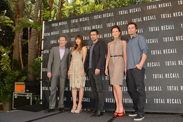 """Kate Beckinsale Len Wiseman Photo Call For Columbia Pictures' """"Total Recall"""""""