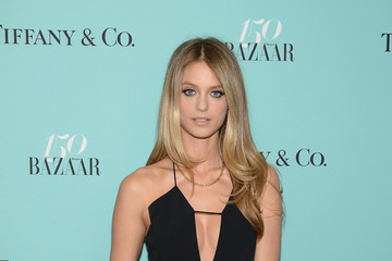 Kate Bock Harper's BAZAAR 150th Anniversary Event Presented With Tiffany & Co at the Rainbow Room - Arrivals