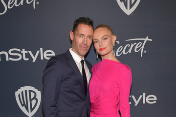 Kate Bosworth Michael Polish The 2020 InStyle And Warner Bros. 77th Annual Golden Globe Awards Post-Party - Red Carpet