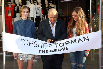 Kate Bosworth Philip Green Topshop Topman British Street Party To Celebrate The LA Opening Moment - Arrivals