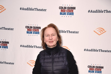 Kate Burton Opening Night For Colin Quinn's 'Red State Blue State' At Audible's Minetta Lane Theatre In NYC