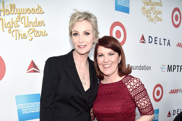 Kate Flannery Jane Lynch MPTF Celebrates 95th Anniversary With 'Hollywood's Night Under the Stars' - Red Carpet
