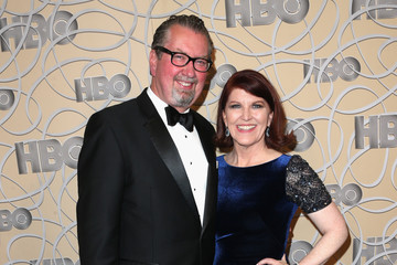 Kate Flannery HBO's Official Golden Globe Awards After Party - Arrivals