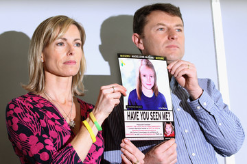 Gerry McCann Kate And Gerry McCann Hold A News Conference To Mark The 5th Anniversary Of The Disappearance Of Madeleine