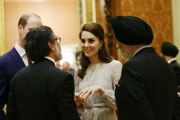 Kate Middleton The Queen Launches 2017 India Year Of Culture