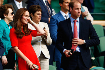 Kate Middleton Day Nine: The Championships - Wimbledon 2015