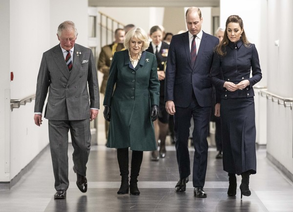 Prince Of Wales And Duchess Of Cornwall Visit Leicestershire